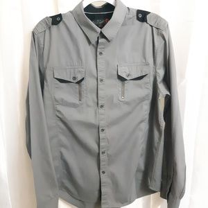 G by Guess Long Sleeve Button Up Shirt